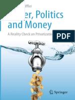 Water Politics and Money
