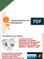 5 Caracteristicas de La Nota Informativa