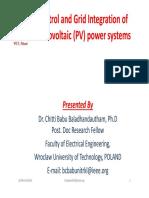 Lecture(PV) 01