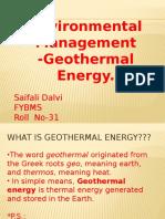 EVM Geothermal Energy.