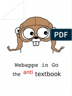 Webapp With Golang Anti Textbook