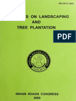 Irc.gov.in.sp.021.2009 Guidelines on Landscaping & Tree Plantation