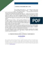 Fisco e Diritto - Corte Di Cassazione n 27927_2009