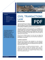 Civil Transactions Law