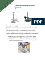 Materiales y Equipos Utilizados en El Laboratorio de Microbiología