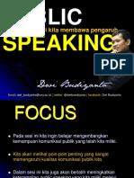 Materi Public Speaking Untuk Mahasiswa
