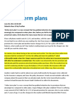 Online Term Plans ( ML-30!06!2011 )