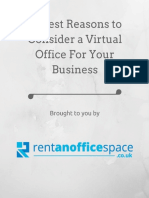 10 Best Reasons to Consider a Virtual Office for Your Business