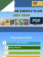2012-2030-Philippine Energy Plan (PEP)