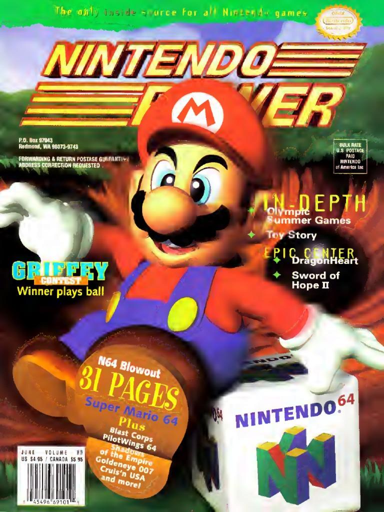 Nintendo Power Issue 085 June 1996   Mario   Nintendo