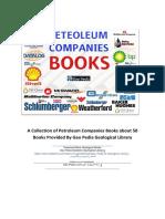 50 Petroleum Companies Books (All Down. Links) @Geo Pedia