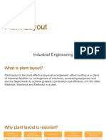Plant Layout - Industrial Engineering