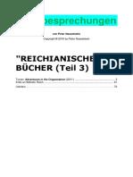 REICHIANISCHE BÜCHER