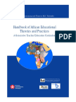 A. Bame Nsamenang & Therese M. S. Tchombe - Handbook of African Educational Theories and Practices