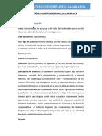 CONFLICTO MINERO ALGAMARCA