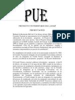 PUE Proyecto Universitario ESAP