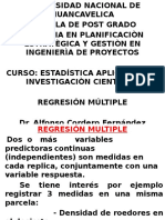 2. Regresion Multiple.