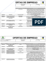 Serviços de Emprego Do Grande Porto- Ofertas Ativas a 19 08 16