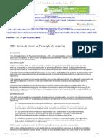 NR 5 - Comissão Interna de Prevenção de Acidentes - CIPA