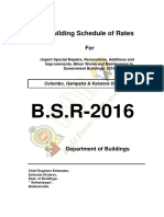 Bsr 2016 Maintenance Cmb sri lanka