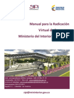 Manual Para La Radicacion Virtual de Proyectos v1 f (1)