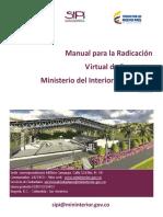 Manual Para La Radicacion Virtual de Proyectos v1 f (1)