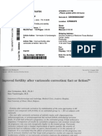 Vermeulen_1984_Improved Fertility After Varicocele Correction Fact or Fiction