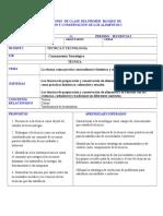 Secuencia 5 preparacion y conservacion de alimentos