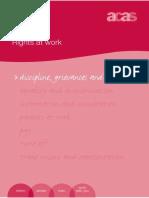 Acas Discipline Grievances Dismissals Rights at Work RW01(APRIL2009)