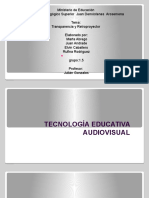 Tecnología Educativa Audiovisual