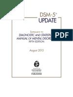 Dsm 5 Update 2015