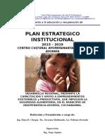 Plan Operativo 2015-2019 Ultimo