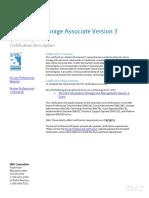 E05 001 Information Storage Management Exam-IsM Certification