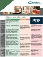 1gluten Free Checklist