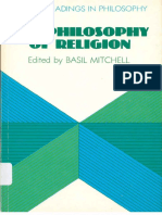 Basil Mitchell. the Philosophy of Religion