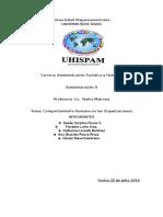 informe de administracion de empresa