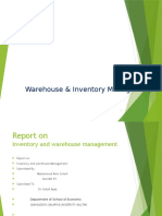 Report on inventery and warehouse management.pptx