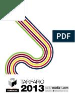 Tarifa Rio 20131