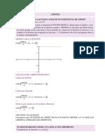 Funciones Con Límites en 0 en Distintas Situaciones