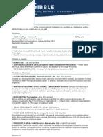 Resume (2010-11)