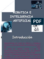 Robotica e Inteligencia Artificial