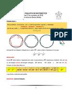 Problema 3 Opm 2015 Fase Final [Solução Ponce ]
