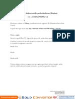 Manual de Auditoría Wireless Con Wifiway2