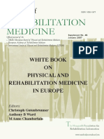 Whitebook on Physical and Rehabilitation Medicine in Europe, Gutenbrunner
