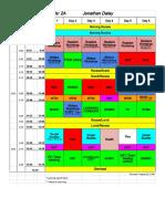 2A- Daley Schedule