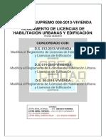 Decreto Supremo 008-2013 Concordada Hasta d.s. 09-2016