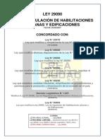 Ley 29090 Concordada Hasta Ley 30494