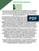 Día Mundial del Medio Ambiente.docx