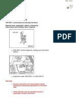Phaeton front suspension