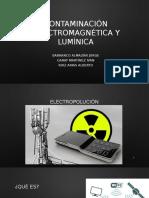 Contaminación Electromagnética y Lumínica
